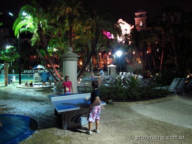 Mesa de Ping Pong - Hard Rock Hotel Orlando - review Próxima Trip