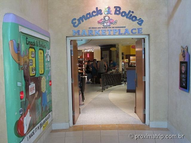 Lanchonete Emack & Bolio's - Hard Rock Hotel Orlando - review Próxima Trip