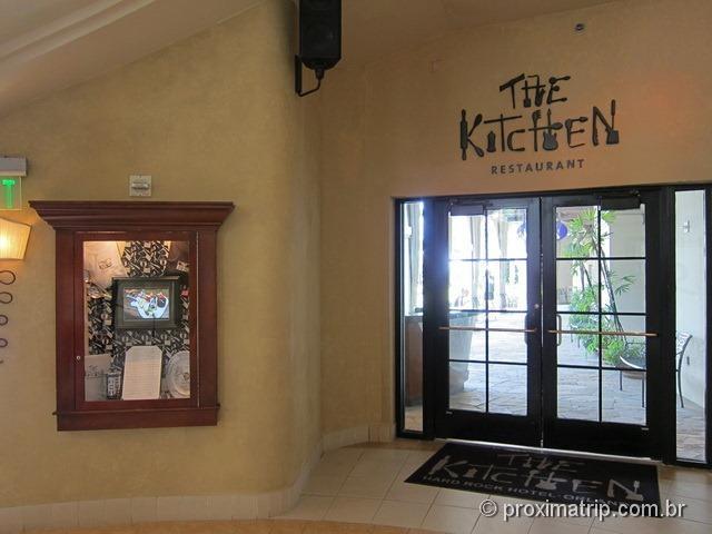 Restaurante The Kitchen - Hard Rock Hotel Orlando - review Próxima Trip