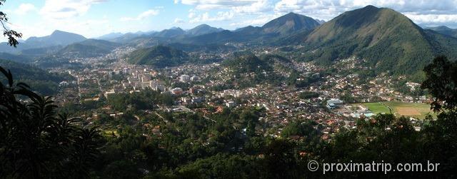 Mirante da trilha Mozart-Catão - Cidade de Teresópolis