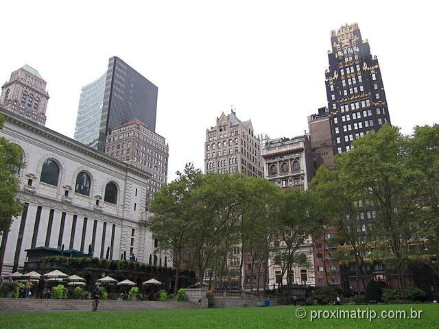 Bryant Park: um agradável parque em NY