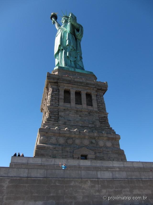 A Estátua da Liberdade!