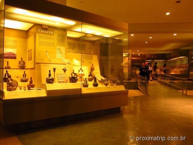 Povos Chavin - Museu de História Natural de Nova York