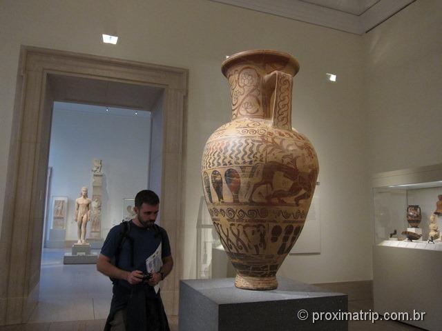 Peças de artesanato da grécia no Metropolitan Museum of Art - Nova York