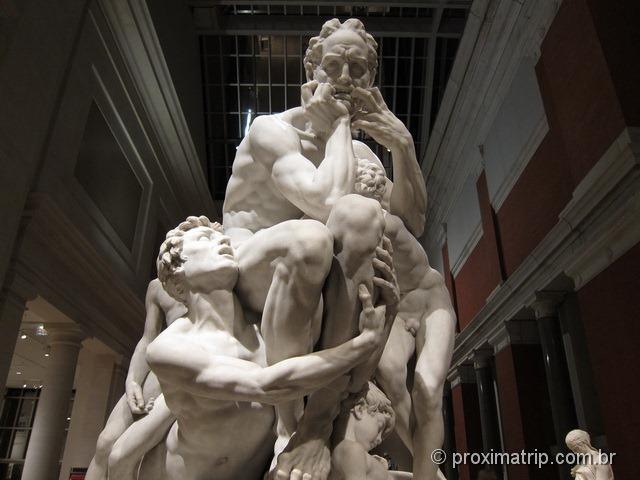 A aflição de Ugolino com seus filhos - Metropolitan Museum of Art - Nova York