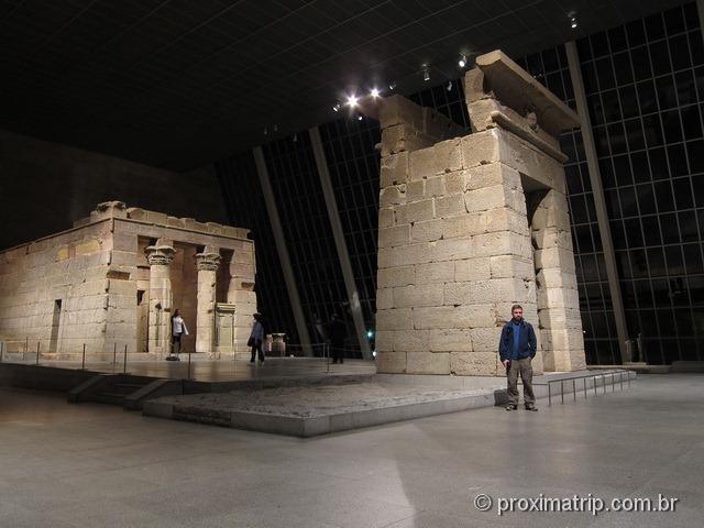 um mini Egito dentro do Metropolitan Museum of Art - Nova York