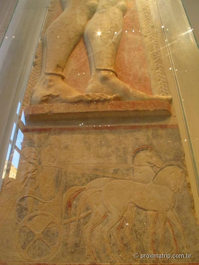 Esculturas gregas de Attica - 500 anos antes de cristo - Metropolitan Museum of Art - Nova York