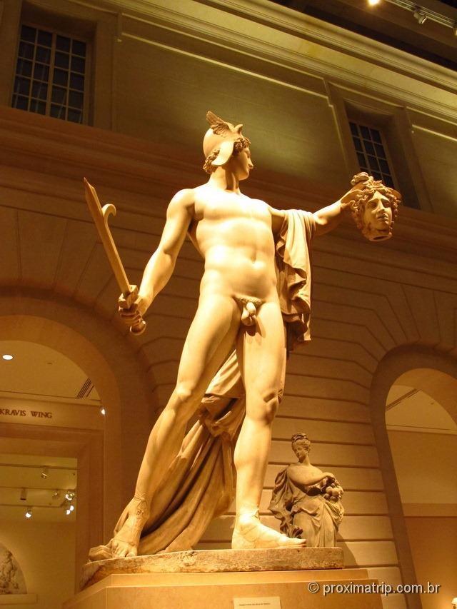 Perseu com a cabeça da Medusa - Metropolitan Museum of Art - Nova York