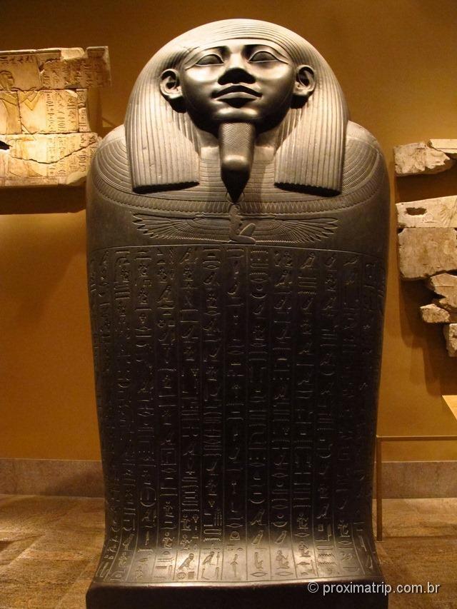 Egito - Urna mortuária - Metropolitan Museum of Art - Nova York