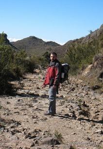 Estrada cheia de pedras da portaria até o abrigo rebouças, no parte alta do P.N. do Itatiaia
