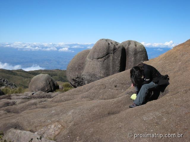 Pausa para descanso - Parque Nacional do Itatiaia