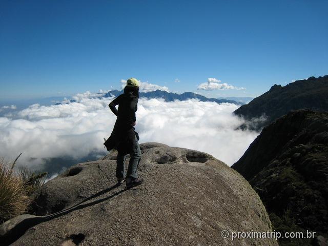 Caminhando sobre as nuvens - Parque Nacional do Itatiaia