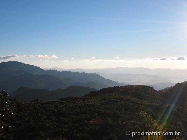 Montanhas no Parque Nacional do Itatiaia