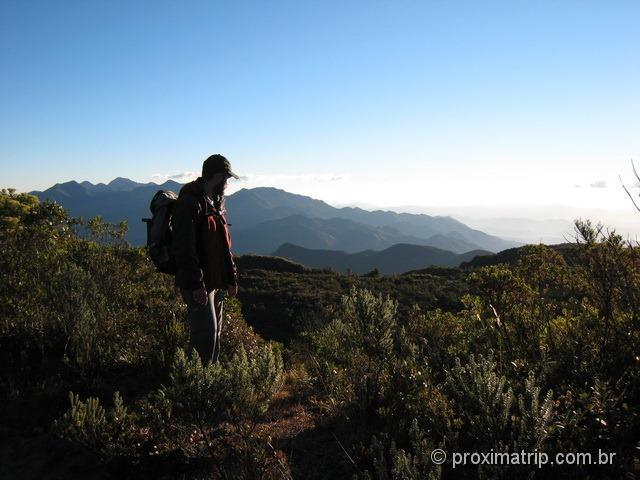 Linda paisagem de montanha - Parque Nacional do Itatiaia