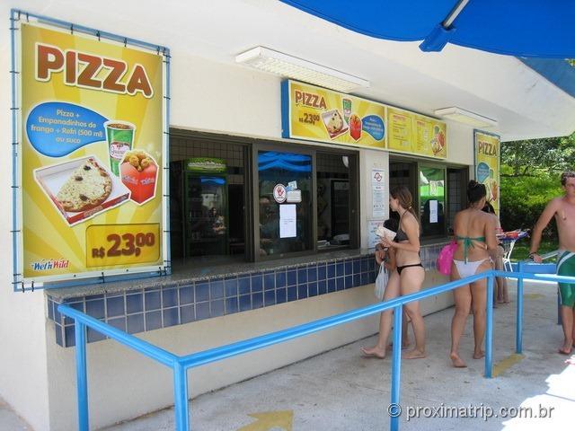 Opção de Pizza - Wet'n Wild - Itupeva