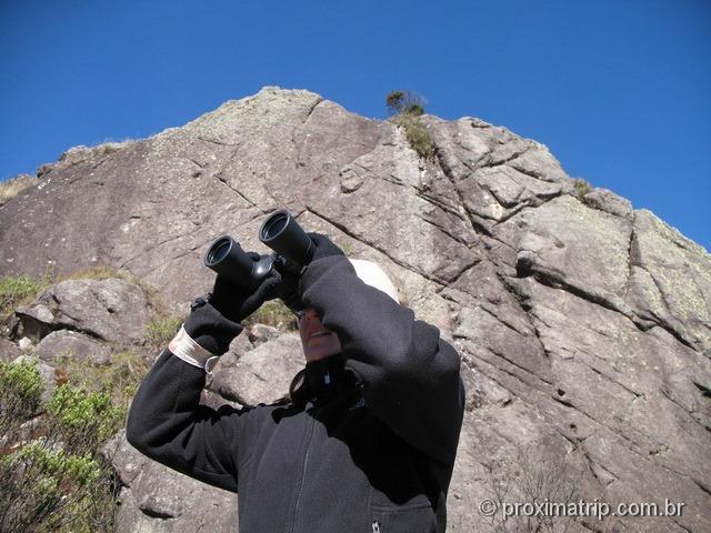 Parque Nacional do Itatiaia - parte alta. Rochas com riscos