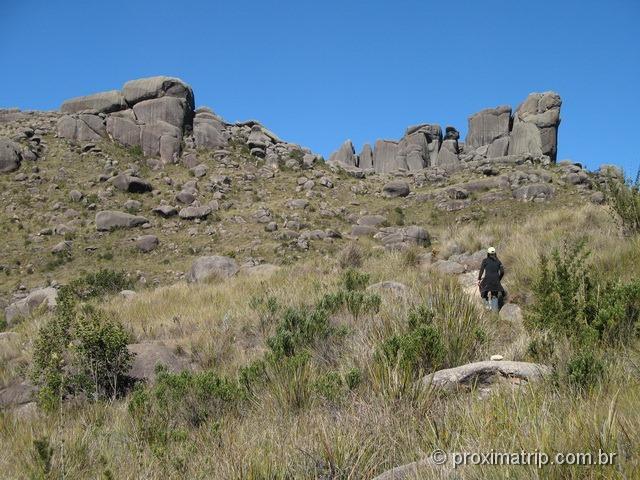 Último trecho até o Maciço das Prateleiras - Parque Nacional do Itatiaia