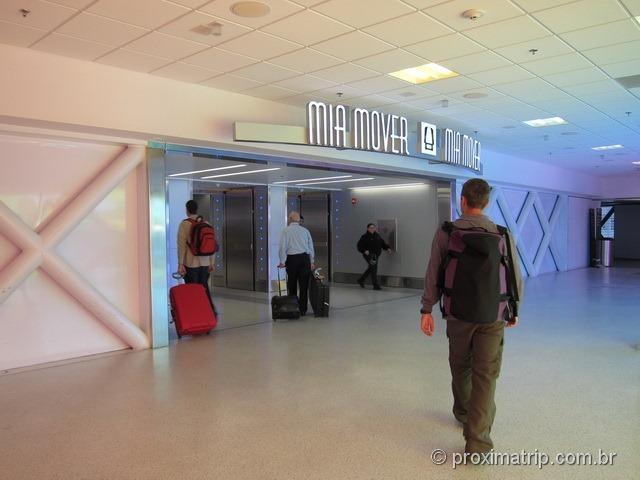 MIA Mover - Aeroporto de Miami
