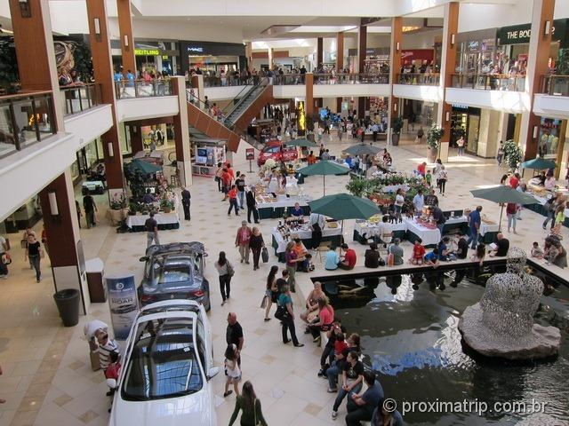 Shopping Aventura Mall - vista interna