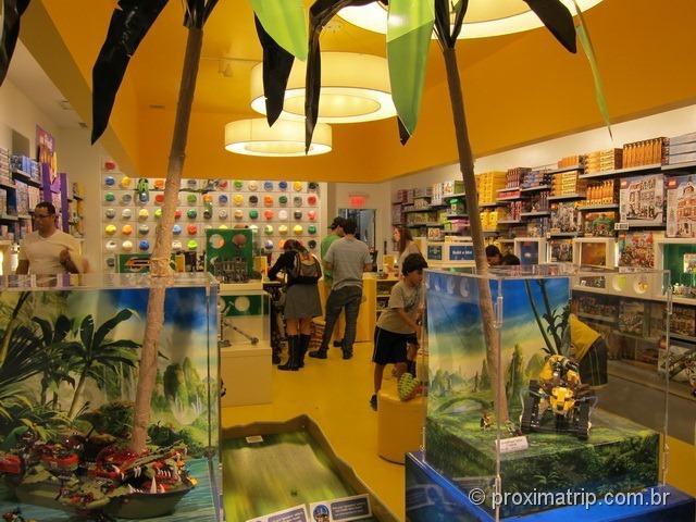 Loja da Lego em Miami - shopping Aventura Mall