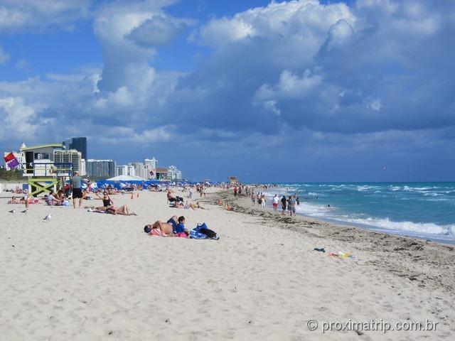 Miami South Beach - dá para pegar praia?