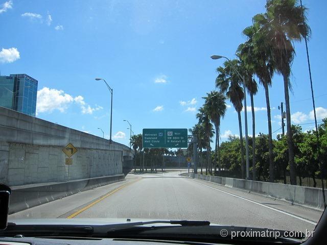 acesso Dadeland Mall em Miami