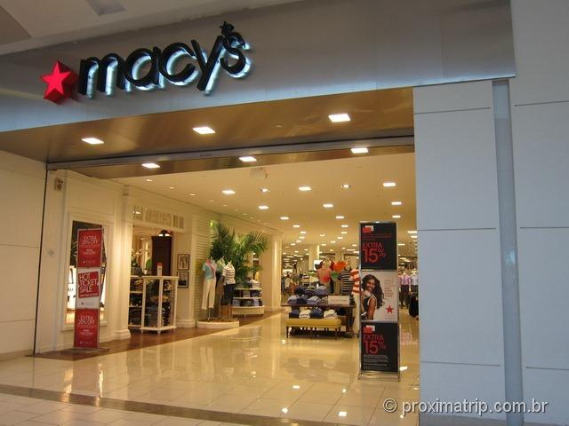 Macys Shopping Dadeland Mall em Miami