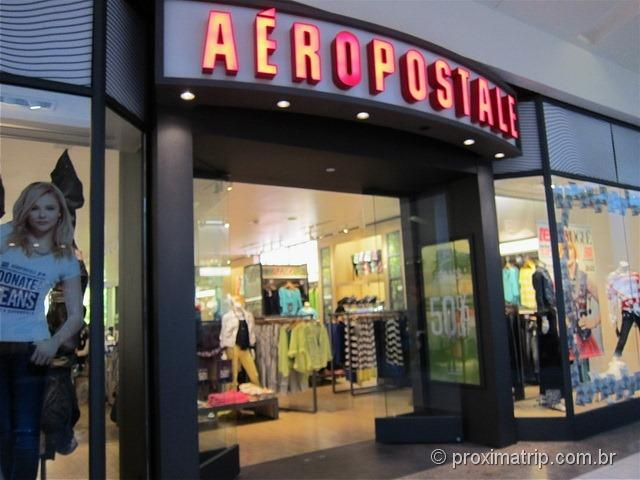 Aéropostale - Shopping Dadeland Mall em Miami