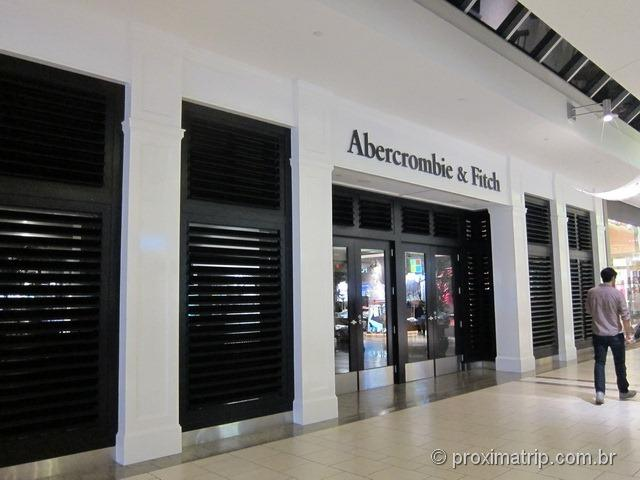 Abercrombie & Fitch- Shopping Dadeland Mall em Miami