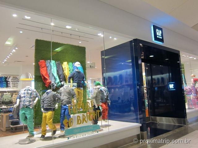 Gap - Shopping Dadeland Mall em Miami