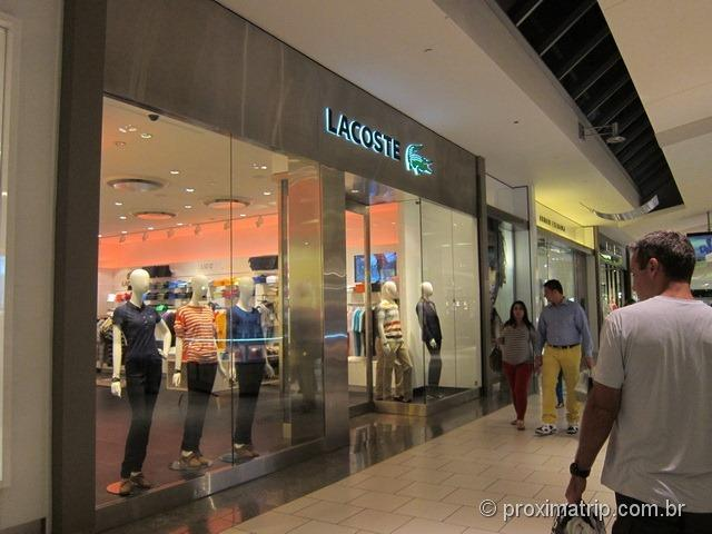 Lacoste - Shopping Dadeland Mall em Miami