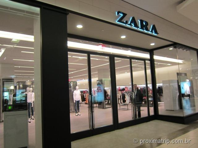 Zara - Shopping Dadeland Mall em Miami