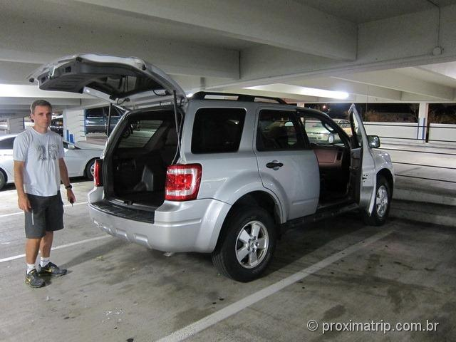 Alugando um Ford Escape na Hertz do Aeroporto de Miami