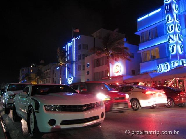Colony Hotel na Ocean Drive - Miami South Beach