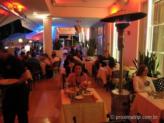 revire do restaurante Nine - Ocean Drive - Miami south Beach