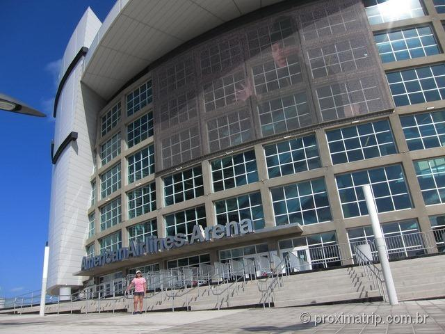 Entrada do American Airlines Arena