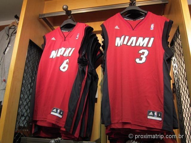 Loja do Miami Heat - camisetas oficiais