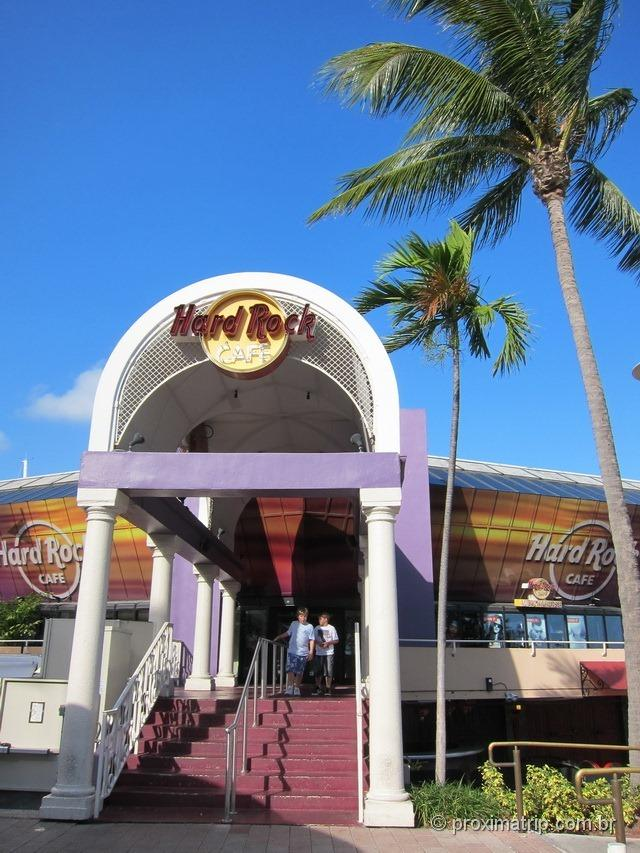 Entrada do Hard Rock Café Miami