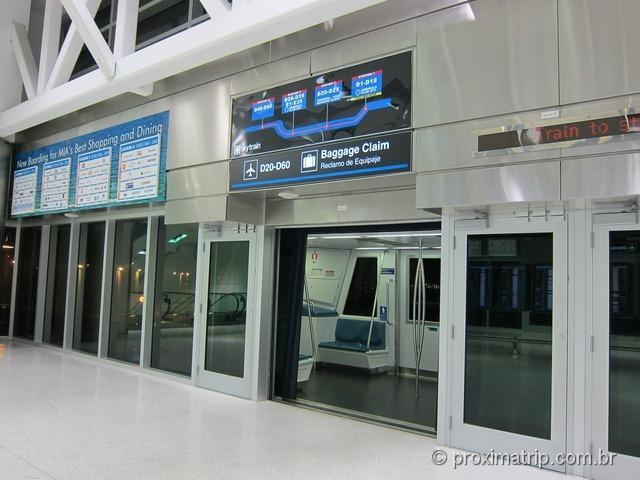 Aeroporto Internacional de Miami - O Skytrain