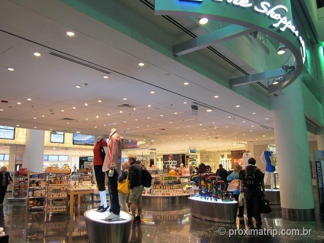 Aeroporto Internacional de Miami - lojas...
