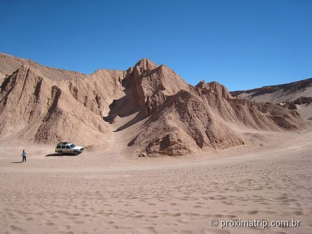 Onde estacionar no Vale da Morte!