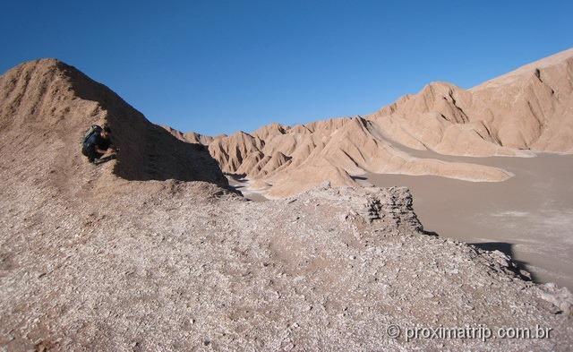 Dunas entre as montanhas do Vale da Morte - Deserto do Atacama
