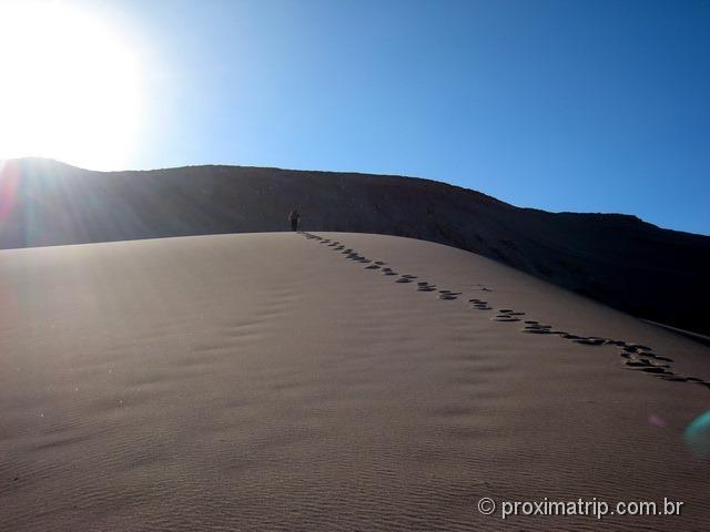 Trilha pelo Vale da Morte - Deserto do Atacama