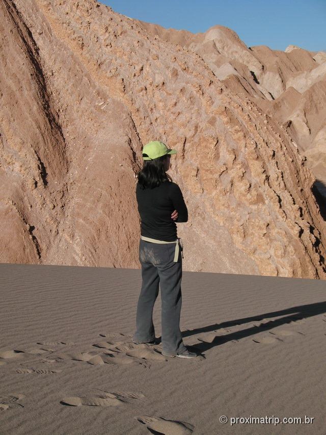 Dunas e montanhas retorcidas - Vale da Morte
