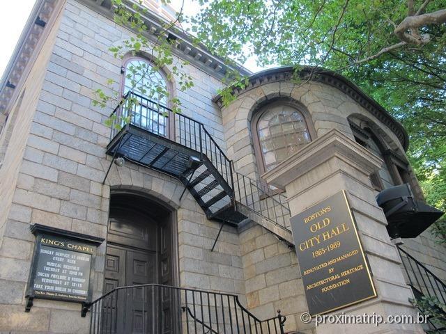 King's Chapel and Burying Ground - Freedom Trail em Boston