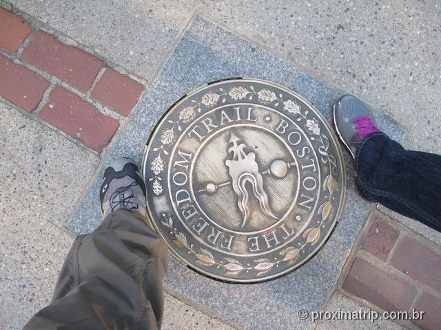 Freedom Trail em Boston - EUA