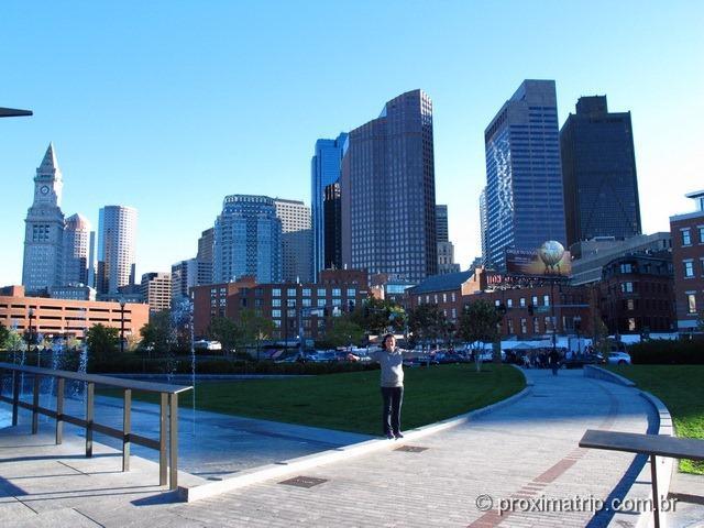 passeio a pé Freedom Trail - Boston - EUA