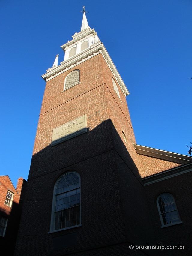 Old north church - Freedom Trail - Boston