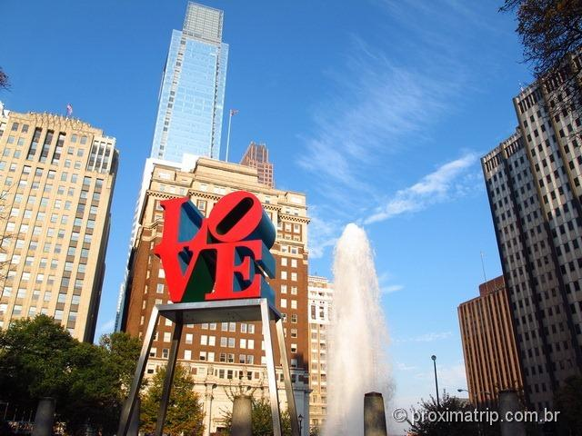 LOVE park - escultura de Robert Indiana - Philly