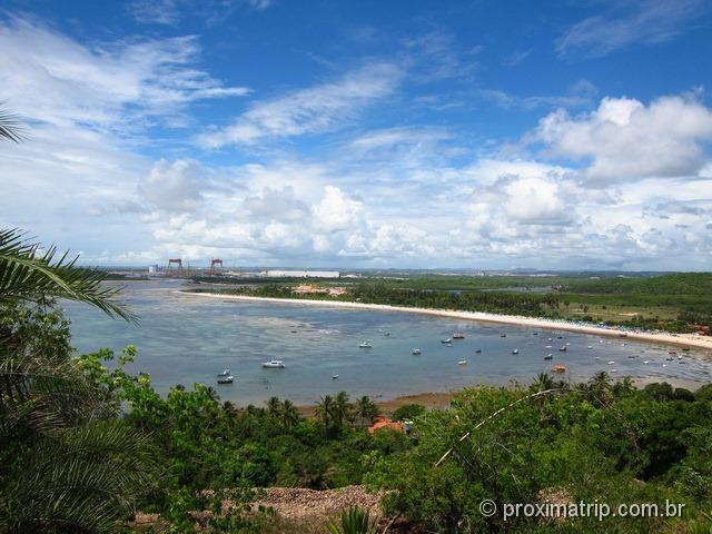 Mirante da praia do Suape e Paraíso - Cabo de Santo Agostinho